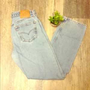 Rare levi mom jeans made in the USA